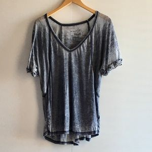 Free People Slate Blue , washed look, sz M